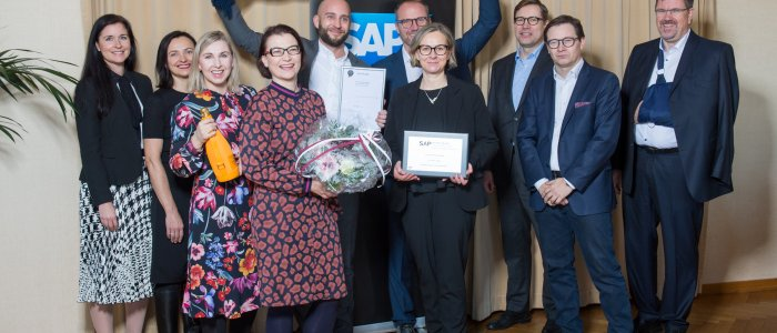 Gavdi wins at SAP Quality Awards