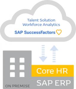 SAP HCM as Hybrid graphics