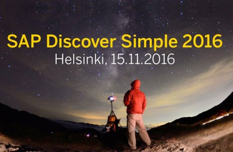SAP Discover Simple 2016