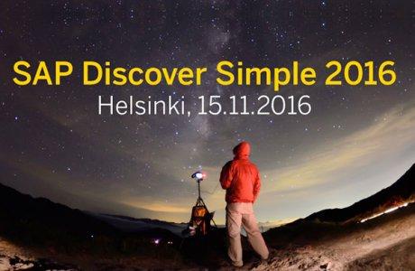 SAP Discover Simple 2016